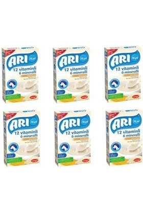 Arı Mama Keçi Sütlü Pirinç Unlu 200 gr 6'lı Paket ( 6 x 200 gr )