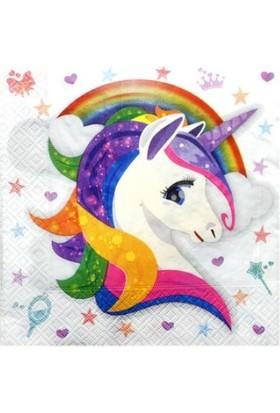 Sihirliparti Unicorn Parti Seti 8 Kişilik