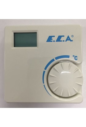 Eca Dijital Oda Termostatı - Kablo Bağlantılı - Ert-176 Ws