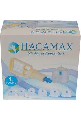 Hacamax 12 Li Masaj Kupası Seti 1. Kalite