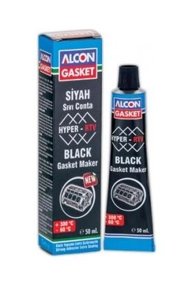 Alcon Hyper Rtv Nötral Siyah Sıvı Conta 50 Ml. Tüp 3315