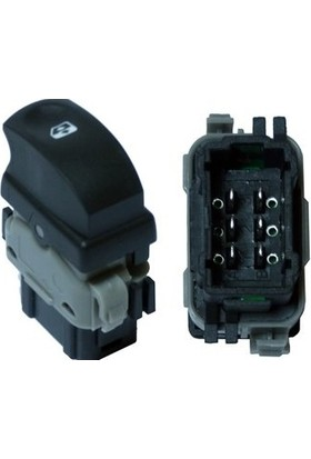 Maxtel Cam Anahtarı Renault Clıo Iıı Sağ 18204936