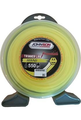Johnson Tırpan Misinası Altıgen 56 Mt 3.3 Mm 550 Gr