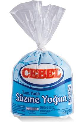 Cebel Tam Yağlı Süzme Yoğurt 900 gr