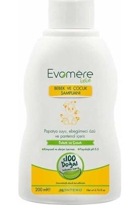 Evomere 200 ml Bebek Ve Çocuk Şampuanı