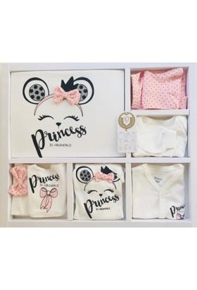 7ee1794e73f7a Miniworld Kız Bebek Fiyonklu Prenses 10'lu Hastane Çıkışı Doğal Antialerjik  ...