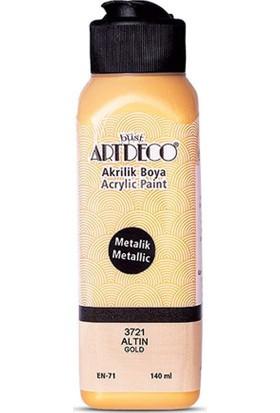Artdeco Metalik Akrilik Boya, 140 Ml, Altın 3721