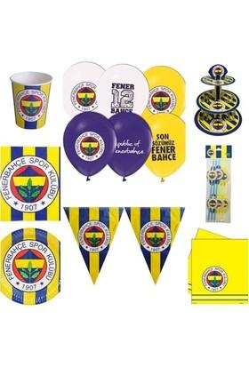 Hobby Concept Fenerbahçe Taraftar Doğum Günü 8'li Set