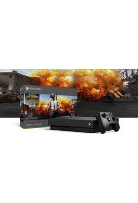 Microsoft Xbox One X 1 TB Pubg Oyun Konsolu + 3 Aylık Live Card CYV-00155