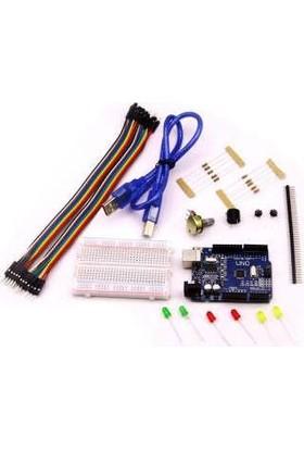 Arduino Uno R3 Eğitim Seti-Arduino Uno Başlangıç Seti - Arduino Uno Set