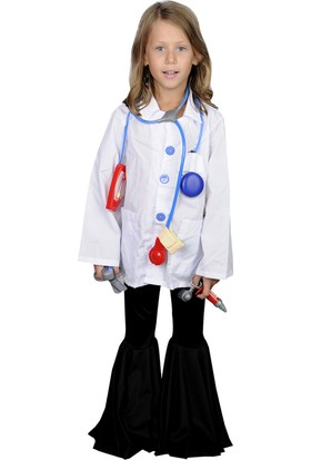 Butikhappykids Unisex Doktor Kostümü Full Aksesuarlı