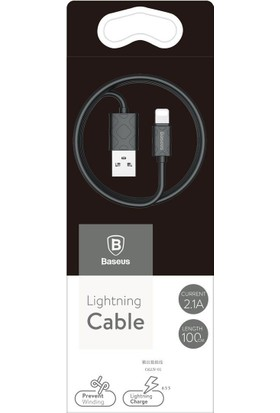 Baseus Yaven Serisi Lightning Kablosu 1 m Siyah