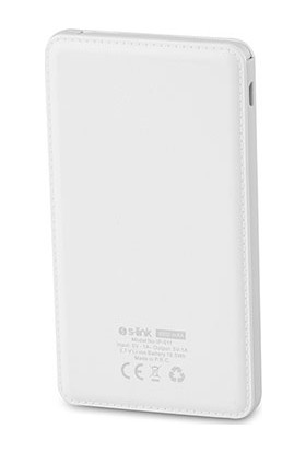 S-Link IP-511 Sabit Micro USB Kablolu 5000mAh Powerbank Taşınabilir Pil Şarj Cihazı ( iPhone Şarj Ucu Çeviricili )