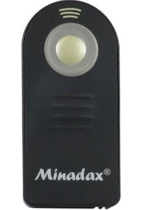 Minadax Kızılötesi (Ir) Mini Uzaktan Kumanda Nikon Mll3'E Benzer