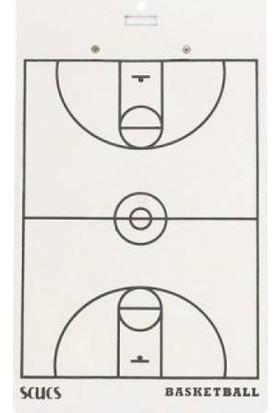 Scucs Basketbol Taktik Tahtası Çift Taraflı