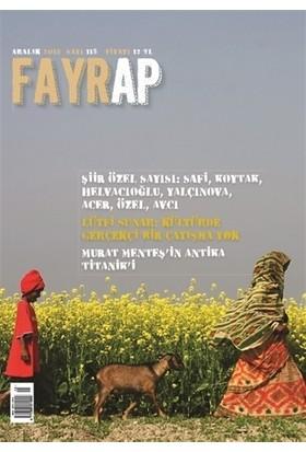 Fayrap Popülist Edebiyat Dergisi Sayı: 115 Aralık 2018 - Kolektif