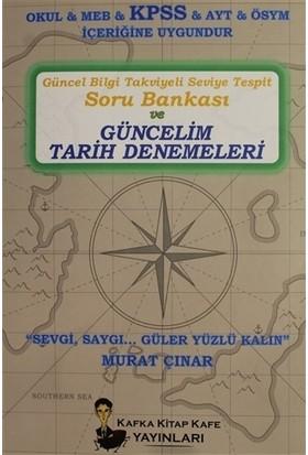Güncel Bilgi Takviyeli Seviye Tespit Soru Bankası Ve Güncelim Tarih Denemeleri - Murat Çınar