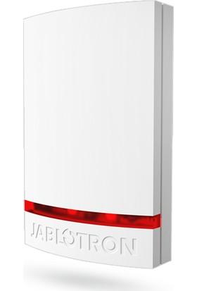Jablotron Ja 1X1A C Wh Ja 100 Serisi Kablolu Harici Siren Kapağı Beyaz Plastik Kırmızı Pencere