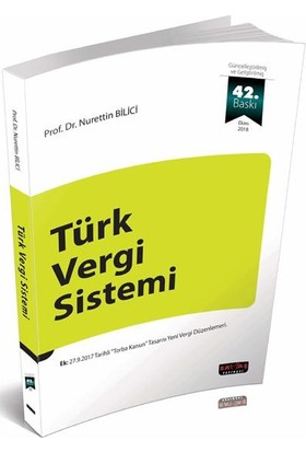 Türk Vergi Sistemi Savaş Yayınları - 42.Yeni Güncel Ve Son Baskı