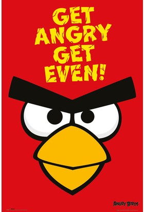 Angry Bırds Get Angry Maxı Poster