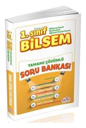 Editör Yayınları 1. Sınıf BİLSEM Tamamı Çözümlü Soru Bankası