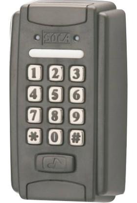 Soca St 320 Tek Kapı Kontrol Ünitesi Şifre Proxımıty Kart Okuyuculu