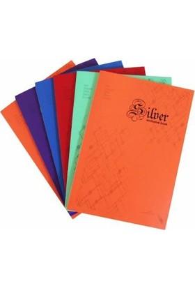 Color Liva A4 Pp Kapak Zımbalı Okul Defteri 6'Lı 40 Yaprak Çizgisiz