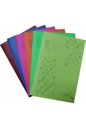 Color Liva A5 Pp Kapak Zımbalı Okul Defteri 6'Lı 60 Yaprak Kareli