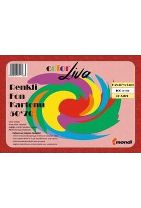 Color Liva Mondi Fon Kartonu Kanarya Sarı 50X70 100'lü Paket