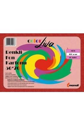 Color Liva Mondi Fon Kartonu Mor 50X70 100'lü Paket