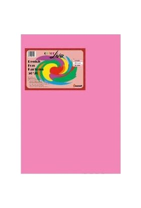 Color Liva Mondi Fon Kartonu Pembe 50X70 100'lü Paket