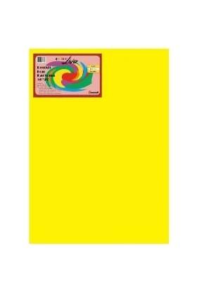 Color Liva Mondi Fon Kartonu Sarı 50X70 50'Li Paket