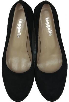 Loggalin 430008 008 Kadın Siyah Günlük Ayakkabı