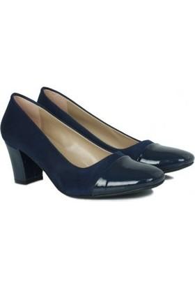 Loggalin 430010 425 Kadın Lacivert Günlük Ayakkabı