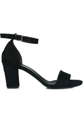 Loggalin 430702 008 Kadın Siyah Sandalet