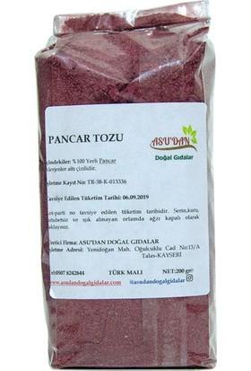 Asudan Doğal Gıdalar Pancar Tozu 200 gr
