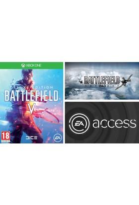 Microsoft Xbox One Battlefield V Deluxe Edit. + Battlefield 1943 + 1 Aylık Ea Access Dijital Kod