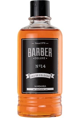Barber Deluxe NO 14 Eau De Cologne 50 ml Seyahat Boyu