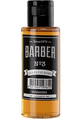 Barber NO 3 Eau De Cologne 50 ml Seyahat Boyu