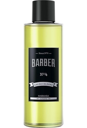 Barber NO 4 Eau De Cologne 50 ml Seyahat Boyu