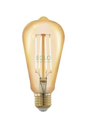 Eglo 11696 E27-Led St64 4W Amber 1700K Ampul