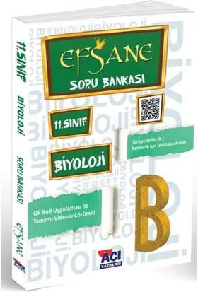 Açı Yayınları 11. Sınıf Biyoloji Efsane Soru Bankası