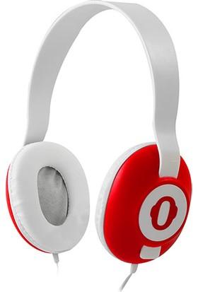 Snopy SN-910 Kırmızı Multimedia Mikrofonlu Kulaklık