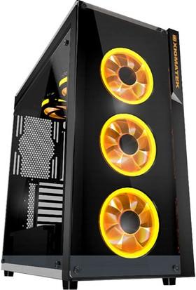 Xigmatek EN9726 Prosper 4x12 cm RGB Fan Full Pencereli Oyun Kasa
