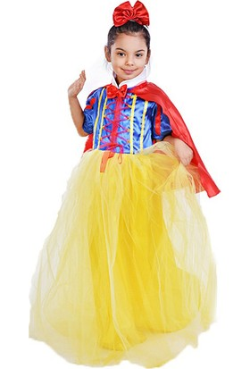 192ff3114ce71 Bebebebek Pamuk Prenses Kostümü Yakalı Pelerinli - Kız Çocuk Abiye 2 Yaş