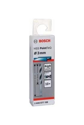 Bosch Hss Pointteq 3 Mm Metal Matkap Ucu (10 Adet)