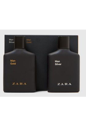 Zara Man Gold 100 ml + Zara Man Silver 100 ml EDT Erkek Parfüm Seti