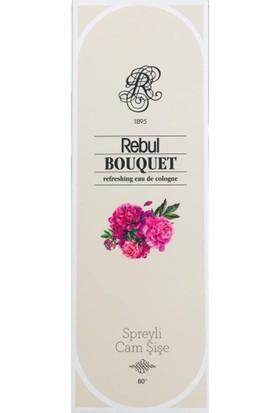 Rebul Bouquet Kolonya 100 Ml (Cam Şişe) Spreyli (Buket - Şakayık)