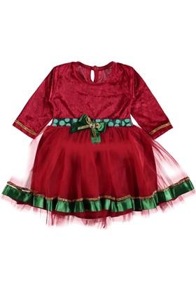 Neşeli Bebek 272795 Kız Noel Elbise