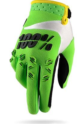 Enduro Eldiveni Motokros L Yeşil